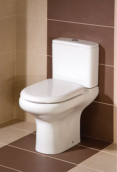 Rak Compact Soft Close Coupled Wc With Soft Close Seat 615mm