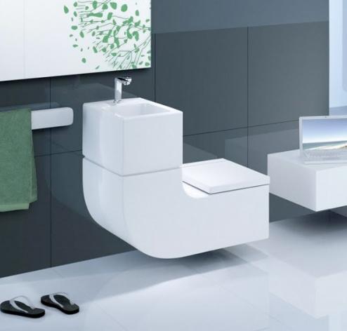 Roca W And W Washbasin And Watercloset 680mm