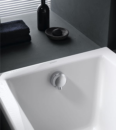 Geberit Bath Drain With Inlet With Ready To Fit Set And
