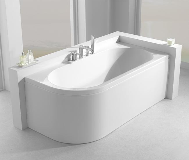 Carron Status Right Hand Corner Bath 1600 X 725mm