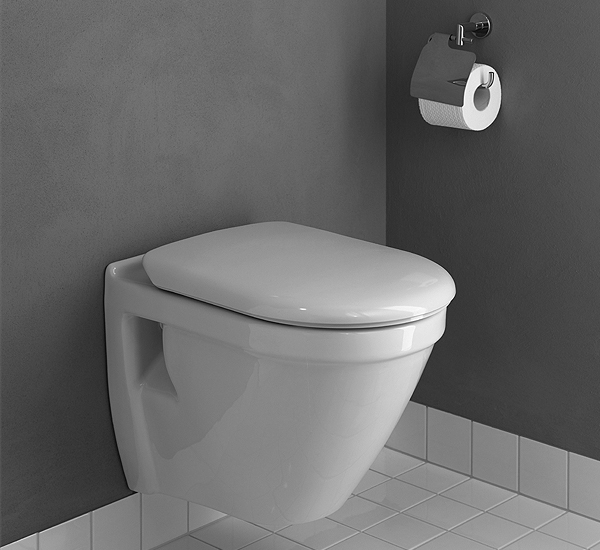 S50 Wall Hung Short Projection Wc Pan With Toilet Seat