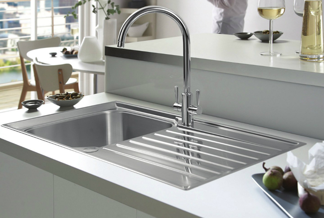 Franke Ascona Sink : Franke Ascona Propack ASX 611-860 Stainless Steel Kitchen Sink And Tap