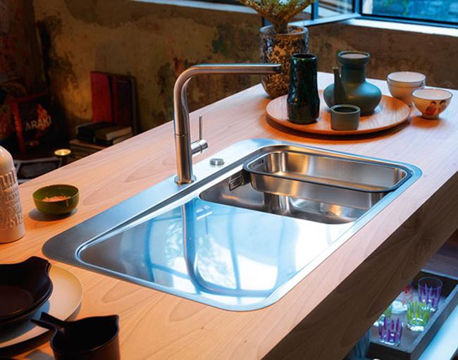 Franke Sinos SNX 211 Stainless Steel 1.0 Bowl Inset Kitchen Sink