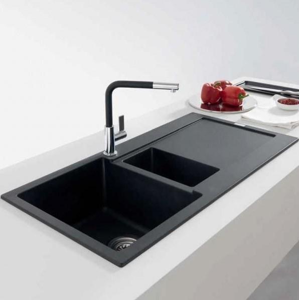 Franke Impact Sink : Franke Maris MRG 651 Fragranite Coffee 1.5 Bowl Kitchen Inset Sink