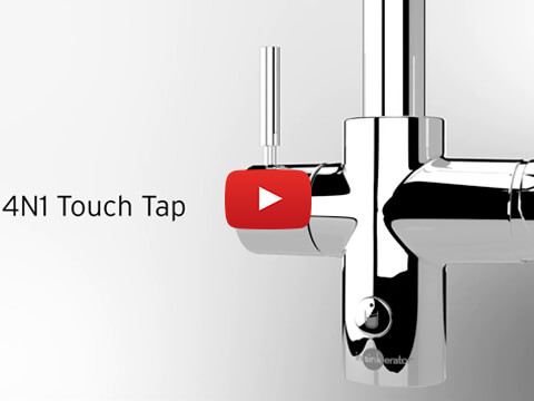 Introducing the InSinkErator 4N1 Touch Steaming Hot Water Tap