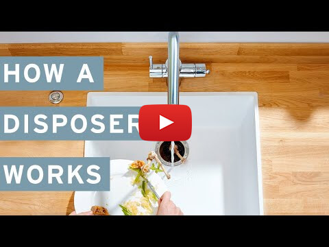 How an InSinkErator Food Waste Disposer Works