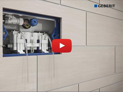 Geberit Sigma70 & Hydraulic Servo Lifter - Installation
