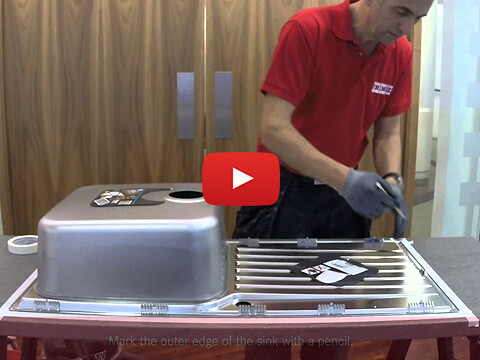 Fit Franke First - Installing a Franke sink with a Slim-Fix Grip system
