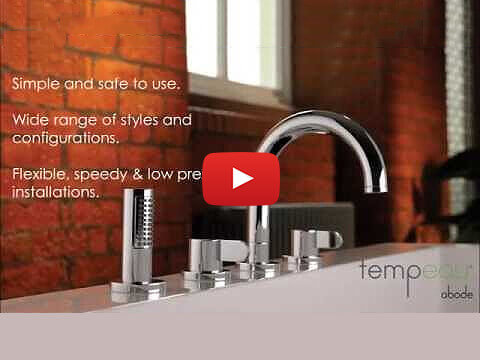 Tempeau® Thermostatic Bath and Shower System