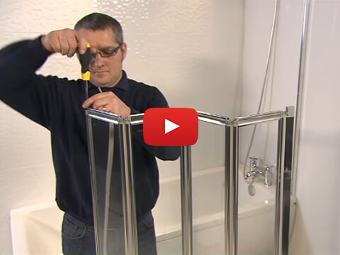 Aqualux Aqua 4 Fold Bath Screen Video Installation Guide