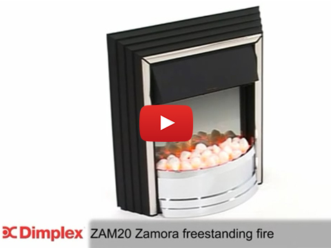 Dimplex Zamora Optiflame Electric Freestanding Fire