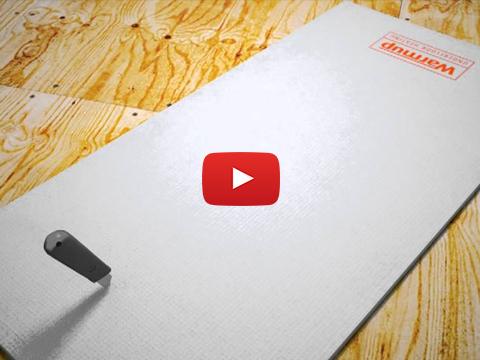 Underfloor Heating Insulation Boards Installation Video by Warmup