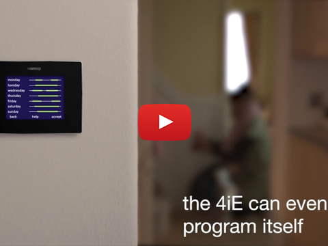 Introducing the new Warmup 4iE Smart WiFi Thermostat