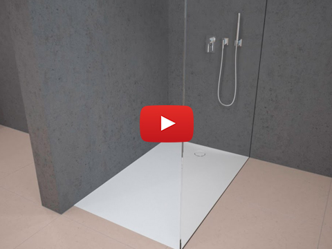 Geberit Shower surface Setaplano - Installation