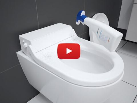 Geberit AquaClean Tuma Classic standard clean - Maintenance