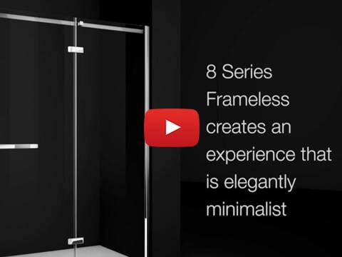 Merlyn Showering 8 Series Frameless Shower Enclosures