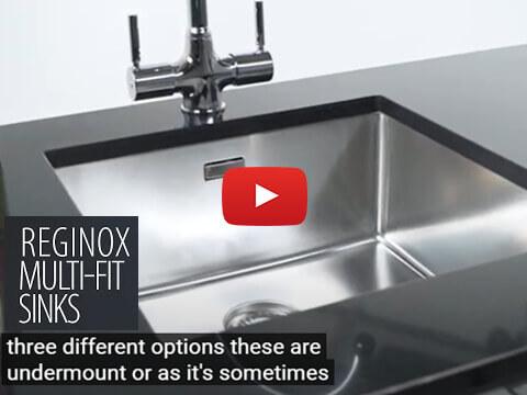 Reginox Multi-Fit Option