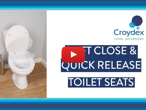 How to fit your Flexi-Fix™ Toilet Seats Soft Close & Quick Release