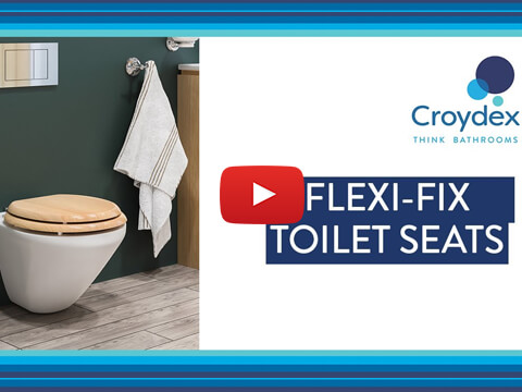 How to fit your Croydex Flexi-Fix™ No Slip Toilet Seats - Installation Guide